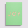 MyblueprintVF - Carte A6 Made in France Joy Vert