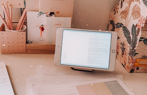 Myblueprintvf - Planner Digital Non-date pdf agenda rêves developpement personnel - lifestyle