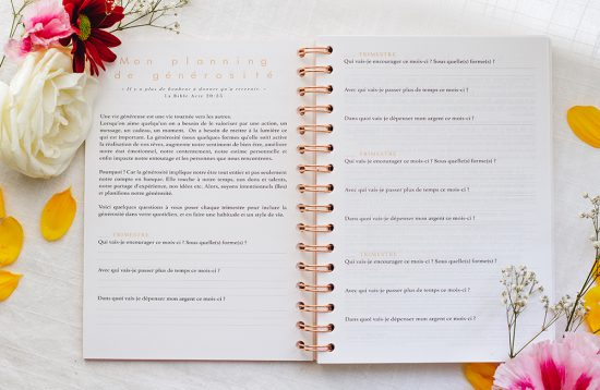 MyblueprintVF - Planner Non Daté Rewrite Your Story Agenda Rêves Développement Personnel Slow Living Semaine Hebdomadaire - Planning Generosité