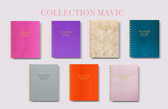 Planner Rewrite Your Story Collaboration Mavic Bright agenda rêves developpement personnel - Collection Globale