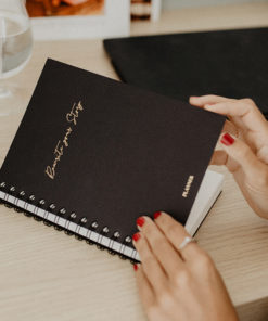 Myblueprintvf - Planner Non-date Rewrite Your Story agenda rêves developpement personnel - KPS - Noir