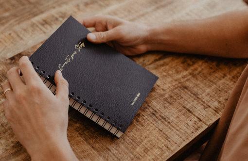 MyblueprintVF - Planner 2021 Rewrite Your Story Agenda Rêves Développement Personnel Slow Living Noir-boy